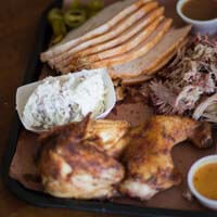 568menu-3-meat-plate Crossroads Bar-B-Que - Catering Menu